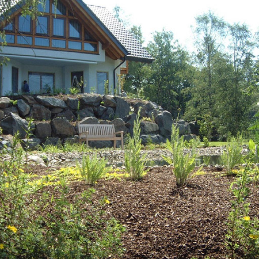 hangabfang   garten- und landschaftsbau braun, Hause deko